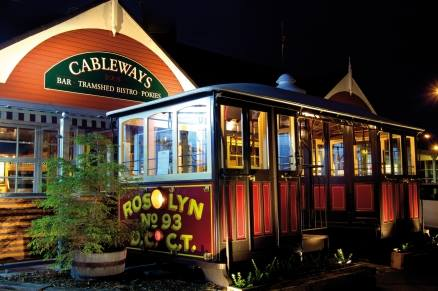 Tramshed Bistro at Cableways Tavern