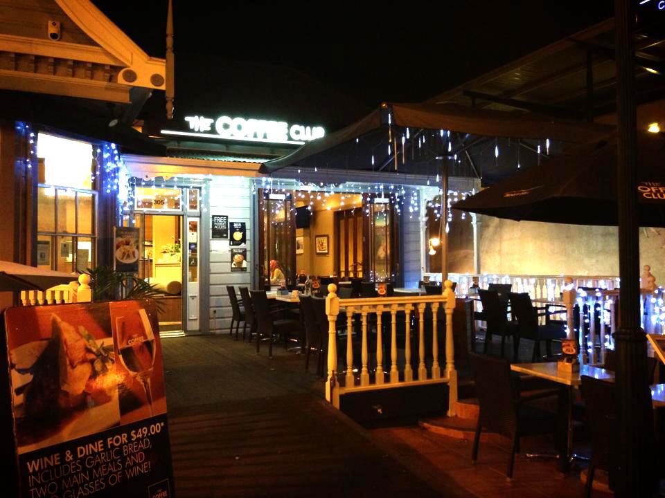 The Coffee Club Customs Street