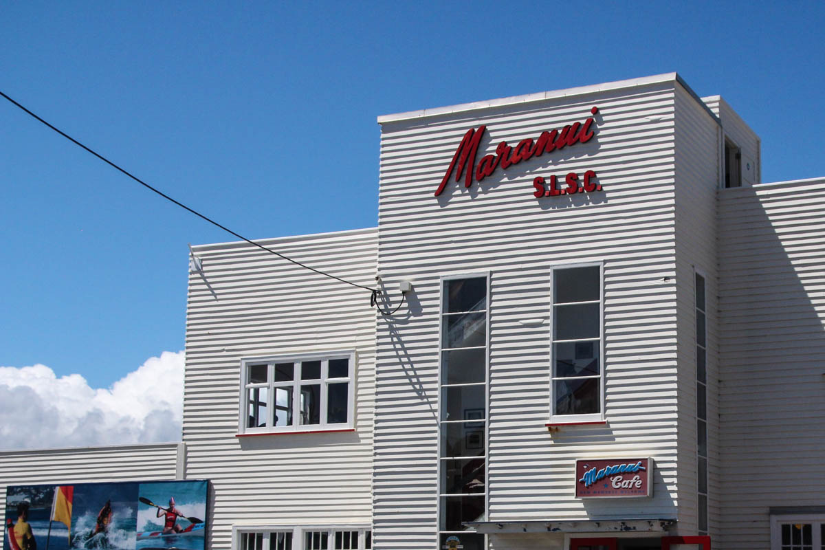 Maranui Cafe at Maranui Surf Life Saving Club